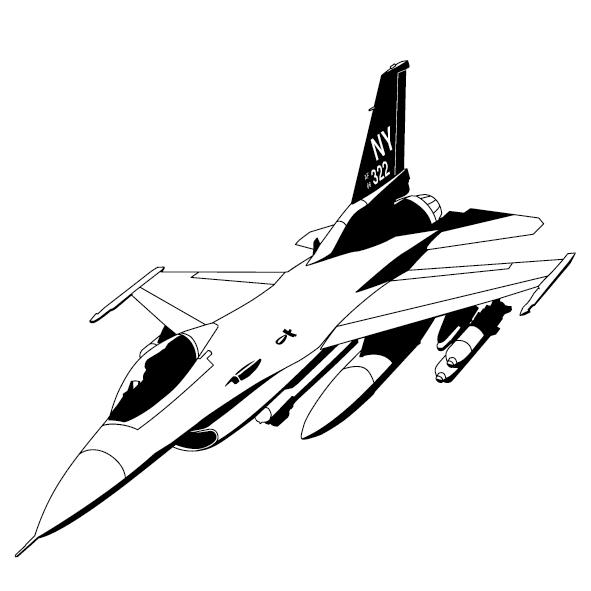Sticker avion mirage-01