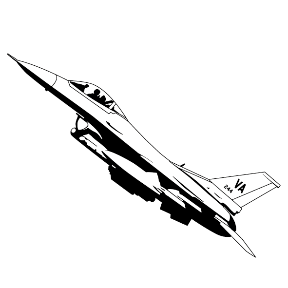 Sticker avion mirage-03