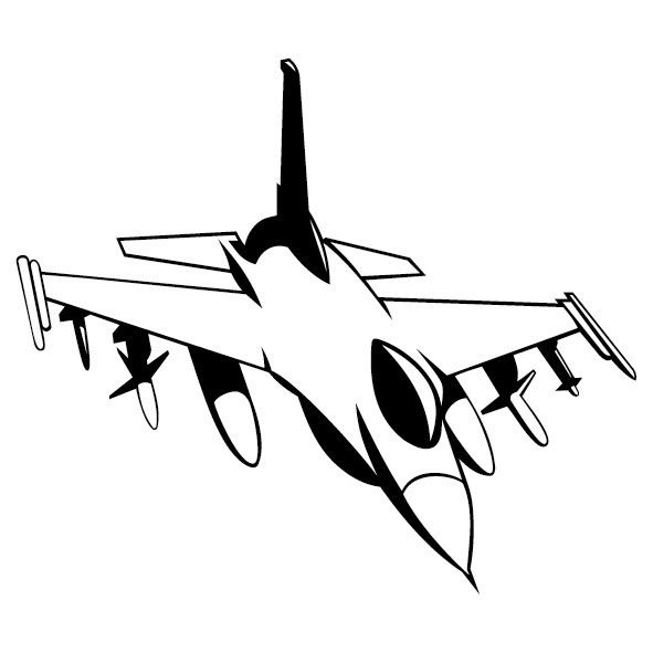 Sticker avion mirage-04