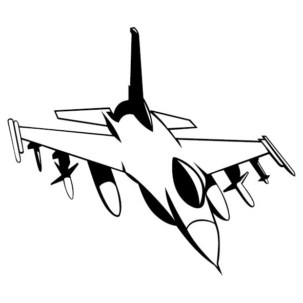 Sticker avion mirage-04