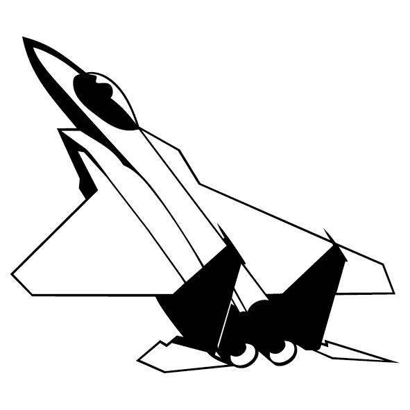 Sticker avion mirage-05
