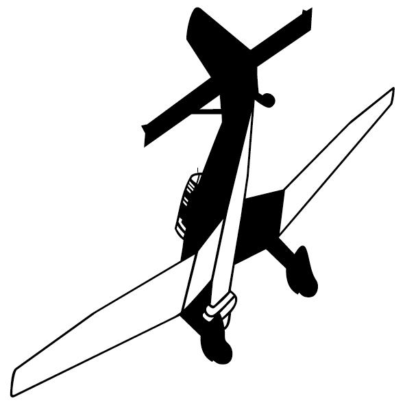 Sticker avion-22