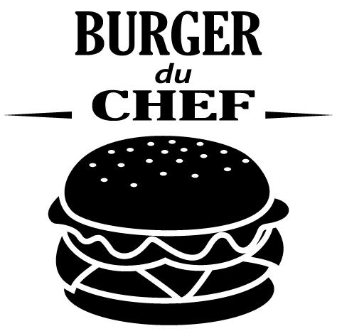 Sticker burger du chef