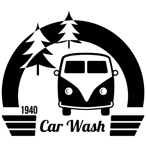 Sticker car wash