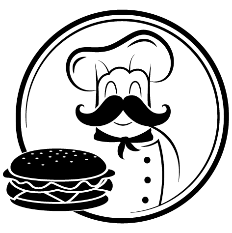 Achat Sticker chef du hamburger