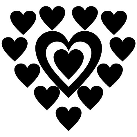Achat Sticker coeur : DECOMP:02
