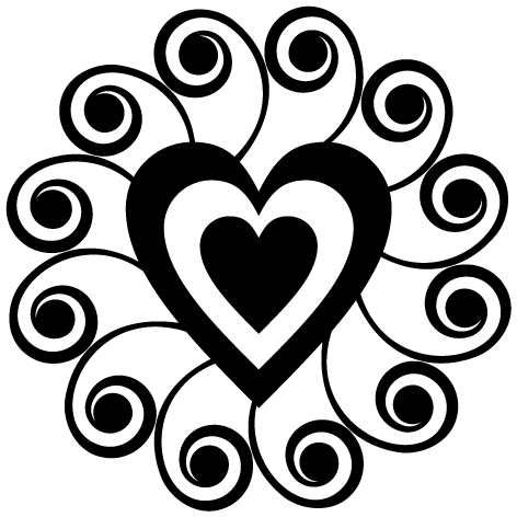 Achat Sticker coeur : DECOMP:03