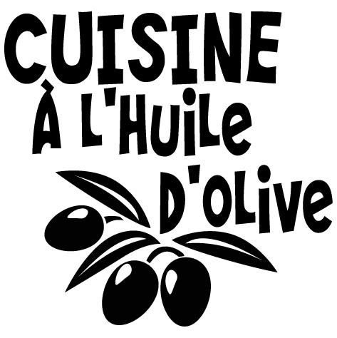 Sticker cuisine à l'huile d'olive.
