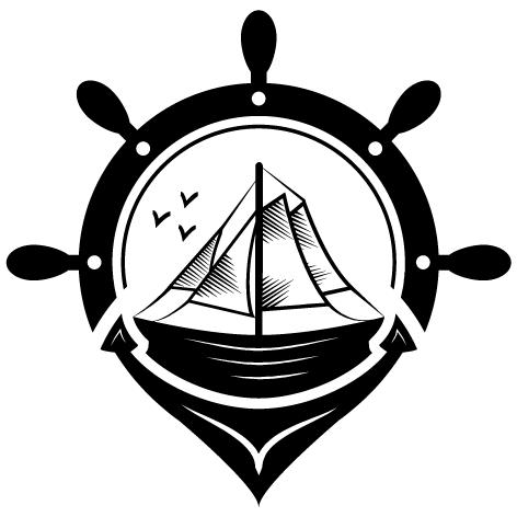 Sticker fond marin