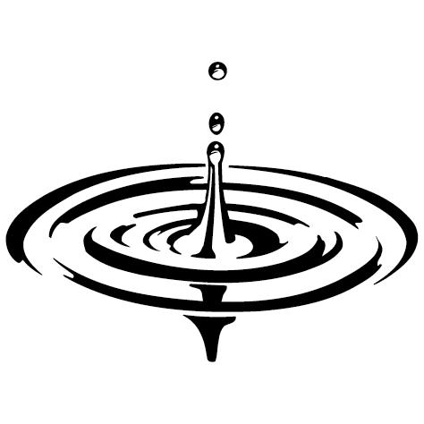 Sticker goutte d'eau-01