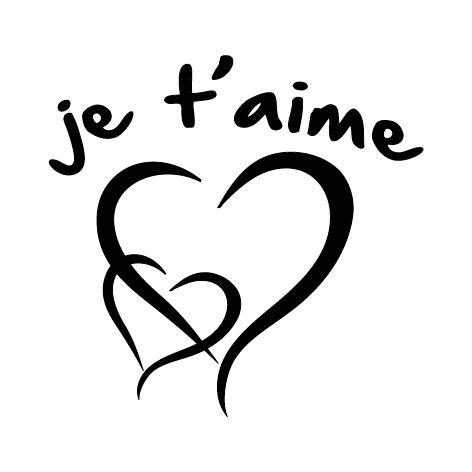 Sticker je t'aime