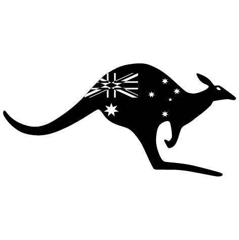 Achat sticker kangourou