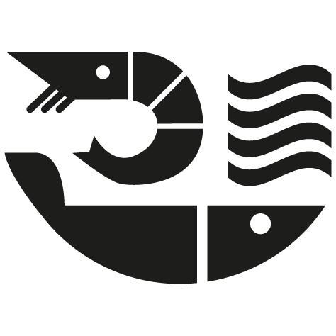 Sticker crevette design
