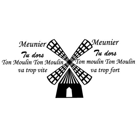 Achat Sticker moulin meunier