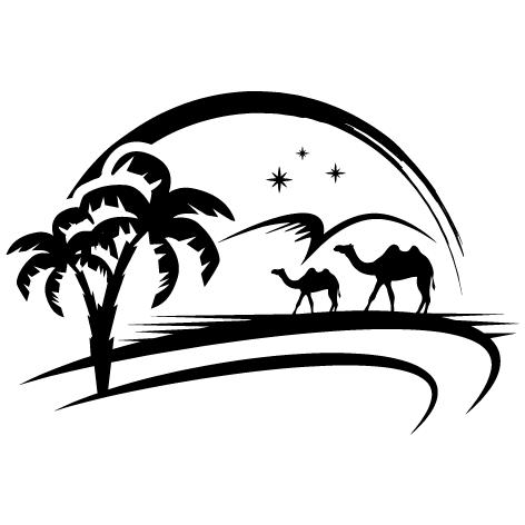 Sticker oasis : SCC50
