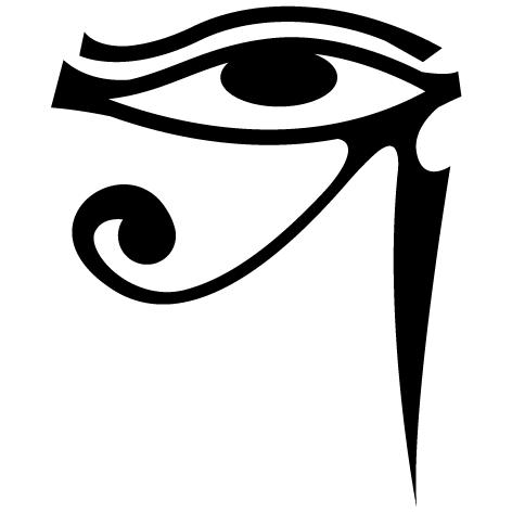 Sticker oeil d'horus