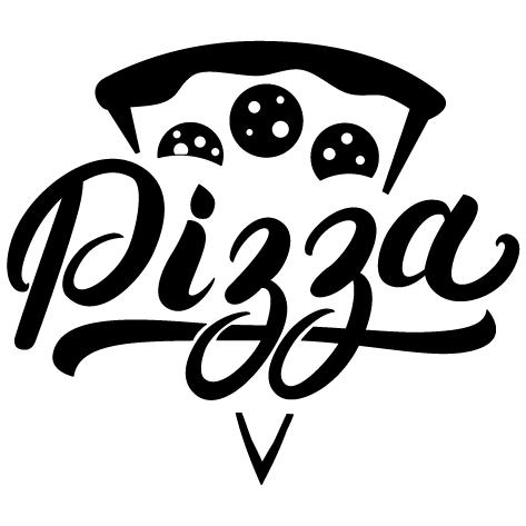 Sticker part de pizza