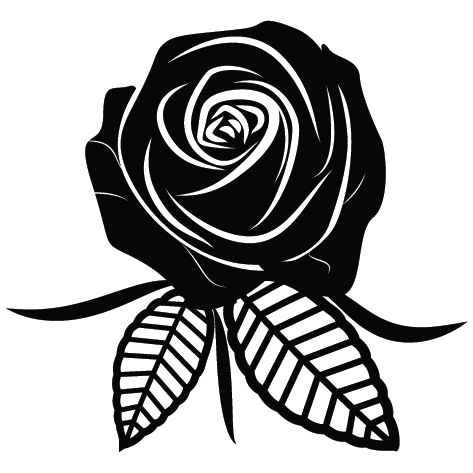 Sticker rose : SFL09