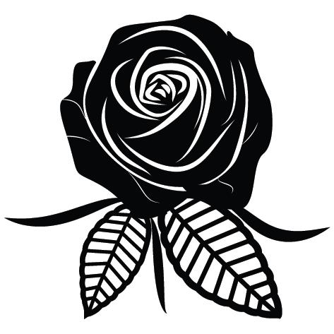 Sticker rose : SFL09