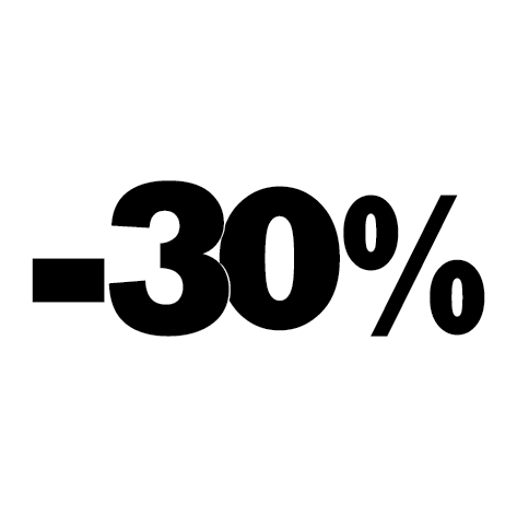 Sticker soldes été -30%