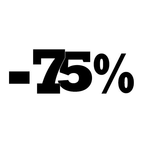 Achat Sticker soldes été -75%