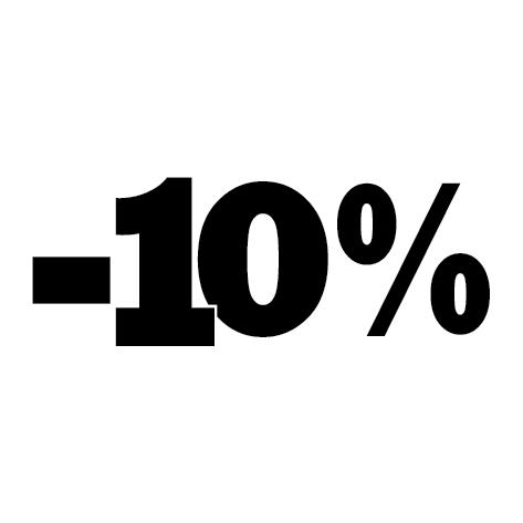 Sticker soldes hiver -10%