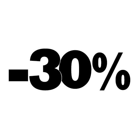 Sticker soldes hiver -30%