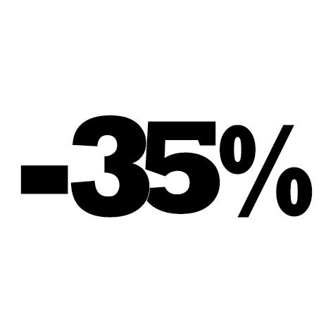 Sticker soldes hiver -35%
