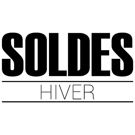 sticker soldes hiver ultra r sistant petits prix lettres adh sives 26. Black Bedroom Furniture Sets. Home Design Ideas