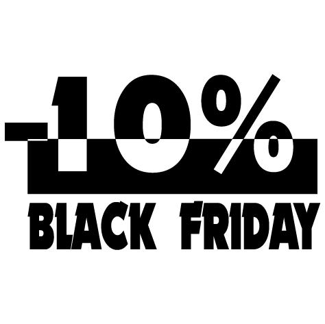 Black Friday -10%