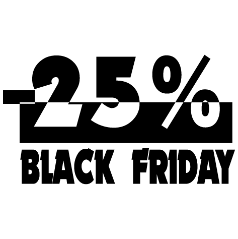Black Friday -25%