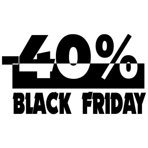 Black Friday -40%