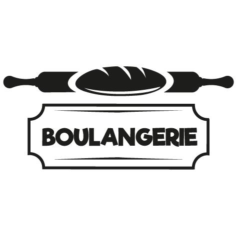 Sticker artisan boulanger