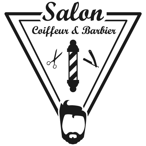 Sticker barbier coiffeur
