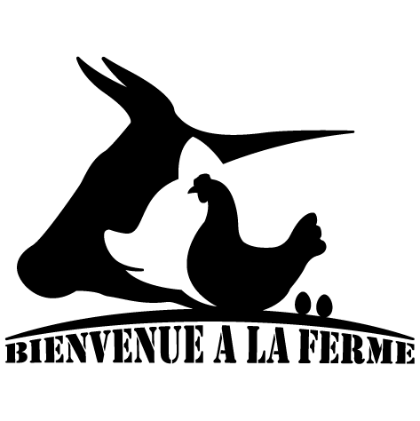 Sticker Bienvenue à la ferme