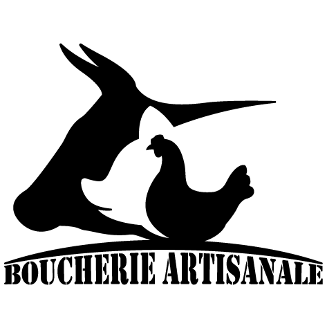 Sticker boucherie artisanale