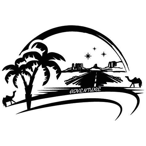 Sticker chameaux Adventure D