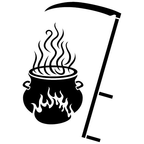 Sticker chaudron
