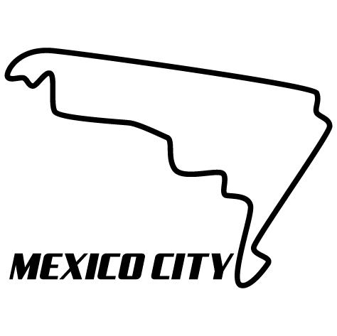 Sticker circuit Mexico City