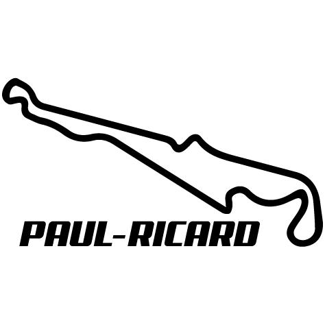 Sticker circuit Paul-Ricard