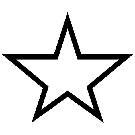Sticker étoile : 01