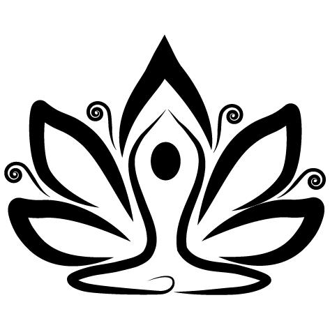 Sticker lotus hypnothérapeute