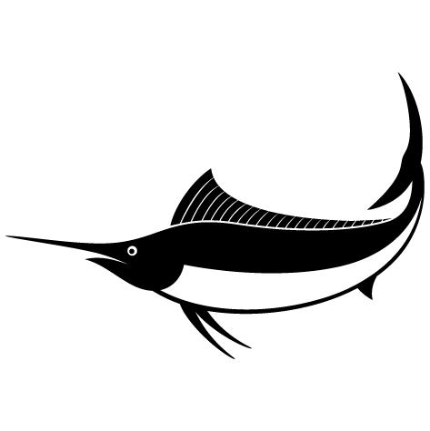 Sticker marlin