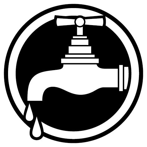 Sticker rond robinet
