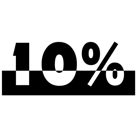 Chiffre soldes -10%