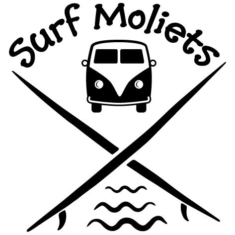 Sticker Surf Moliets