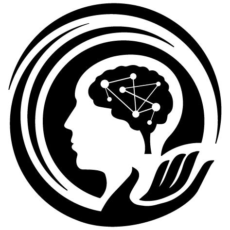 Sticker tête pensante