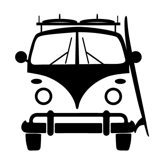 Sticker Van Life