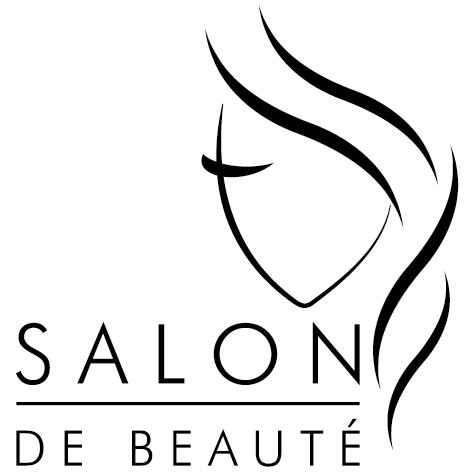 Sticker visage salon de beauté