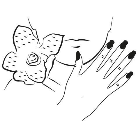 Achat Sticker esthéticienne Visage : 04